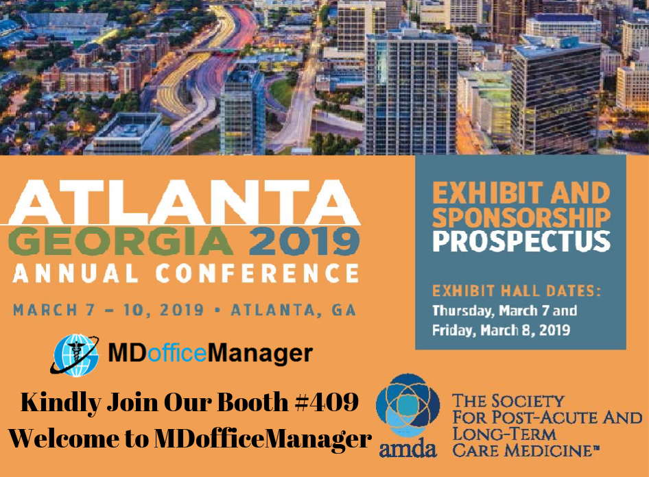 AMDA (PALTC) conference 2019 - MDofficeManager